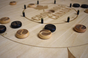 26 Tournament Size Customizable Laser Engraved Crokinole Discs