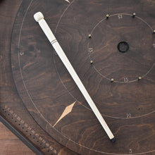 "Load image into Gallery viewer, Deluxe Wooden Crokinole Cue (Optimal Length - 16.8"")"