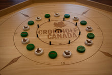 Load image into Gallery viewer, 26 Customizable Laser Engraved Crokinole Discs