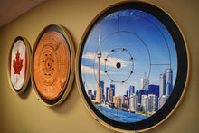 Load image into Gallery viewer, The Lumberjack - Crokinole Canada Board Series - Tournament Size (Meets NCA Standards)