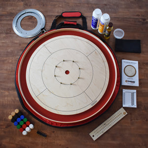The Champions Board Crokinole Kit (Meets NCA Standards)