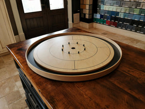 The Crokinole Canada Tournament Board Game Set - Meets NCA Standards