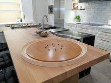 Load image into Gallery viewer, The Outback - Tournament Size Crokinole Board Game Set - Canadian Maple Surface & Side Rails