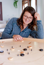 Load image into Gallery viewer, The Crokinole Master - Tournament Size Crokinole Board Game Set