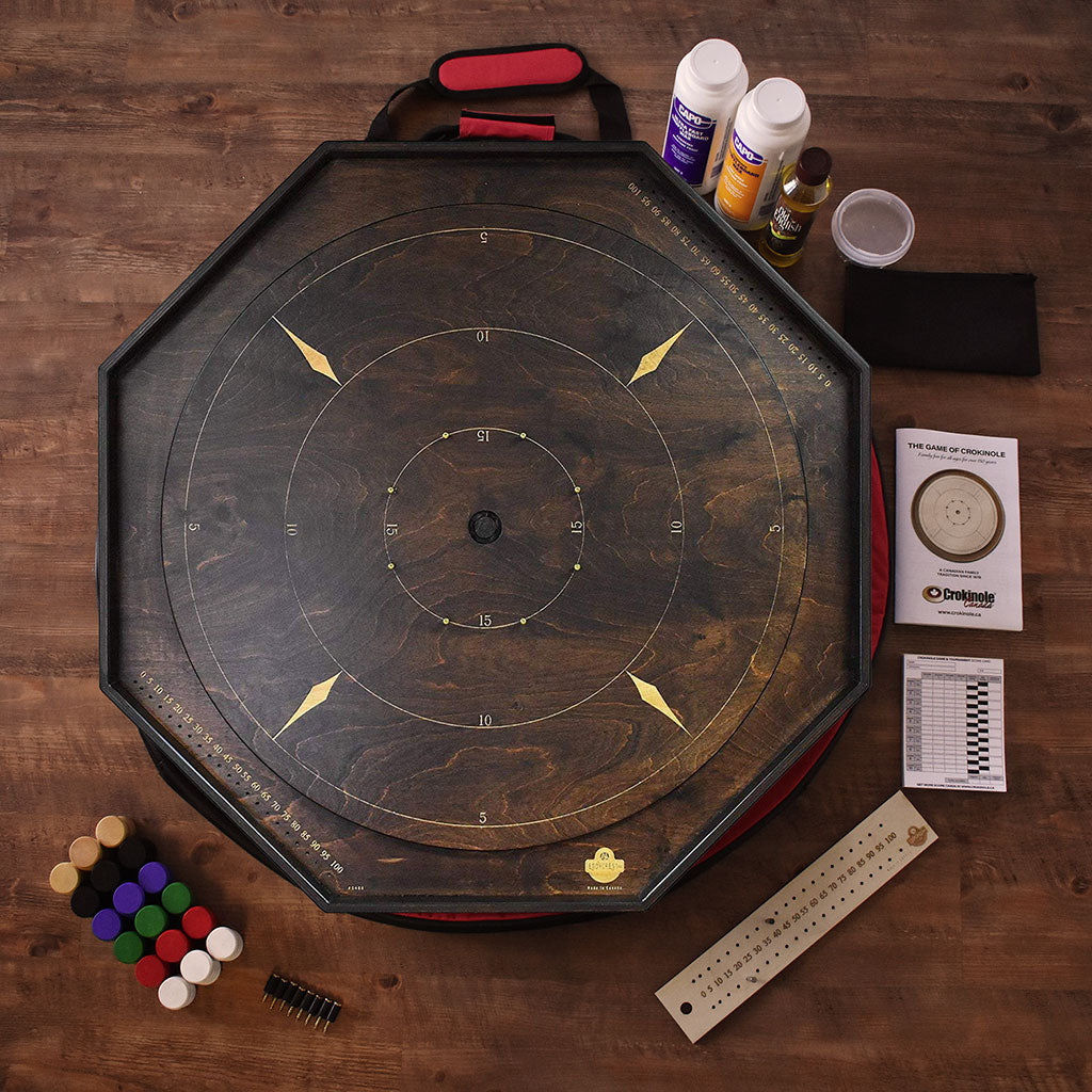 The Luxury Crokinole Board Kit