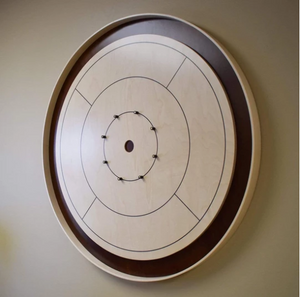 Wall Mounted Crokinole Board