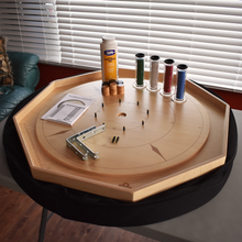 Load image into Gallery viewer, Premium Crokinole Kit - The Crokinole Master