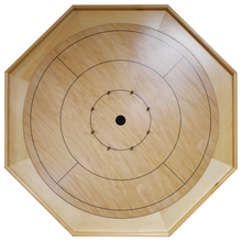 Load image into Gallery viewer, The Heritage Crokinole Board Game Kit - All Natural Wood Color - No Stain