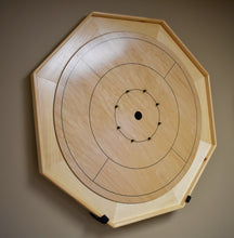 Load image into Gallery viewer, The Heritage Tournament Size Crokinole Board Game Set
