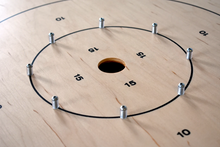 Load image into Gallery viewer, The Classic Board - Traditional Size Crokinole Board Game Set