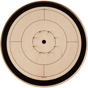 The Crokinole Canada Board Game Set - Customizable Photo / Artwork - Tournament Size (Meets NCA Standards)