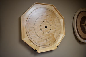 The Gold Standard II - Traditional Size Crokinole Board Game Set