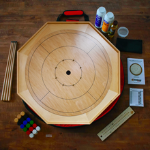 Load image into Gallery viewer, The Heritage Board Crokinole Board Kit