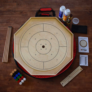 The Classic Board Crokinole Kit