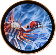 Load image into Gallery viewer, The Ladybug - Crokinole Canada Board Series - Tournament Size (Meets NCA Standards)