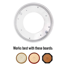 "Load image into Gallery viewer, 12"" Lazy Susan for Crokinole Boards"
