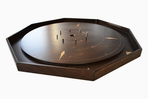 The Luxury Board - Tournament Size Crokinole Board Game Set