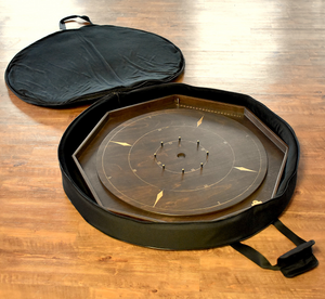 Deluxe MEINL Soft Padded Crokinole Board Carrying Case - For Up to 2 Boards