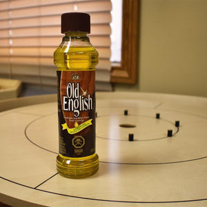 Lemon Oil Crokinole Board Polish