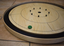 Load image into Gallery viewer, 26 Crokinole Discs (Black & Green)