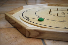 Load image into Gallery viewer, 26 Traditional Size Crokinole Discs - White & Green - DISCOUNTED