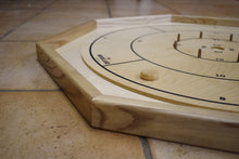 Load image into Gallery viewer, 26 Traditional Size Crokinole Discs (Natural & White)