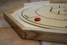 Load image into Gallery viewer, 26 Traditional Size Crokinole Discs (Black & Red)