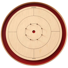 Load image into Gallery viewer, Premium Crokinole Kit - The Championship Board (Meets NCA Standards) - Red Ditch
