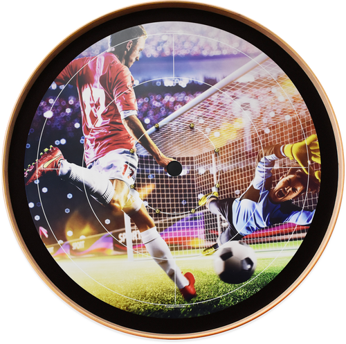 Soccer Star Dream - Tournament Crokinole Board Game Set - Meets NCA Standards
