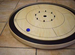 Crokinole Canada Crokinole Pieces No Pouch The Americana - 26 Tournament Size Crokinole Discs (Red & Blue)