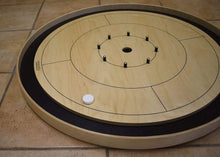Load image into Gallery viewer, Crokinole Canada Crokinole Pieces No Pouch The Canadiana - 26 Tournament Size Crokinole Discs (Red & White)