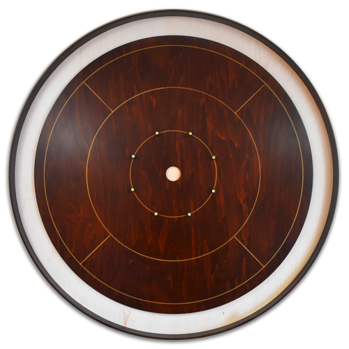 The Dark Knight Tournament Crokinole Board Game Set - Meets NCA Standards