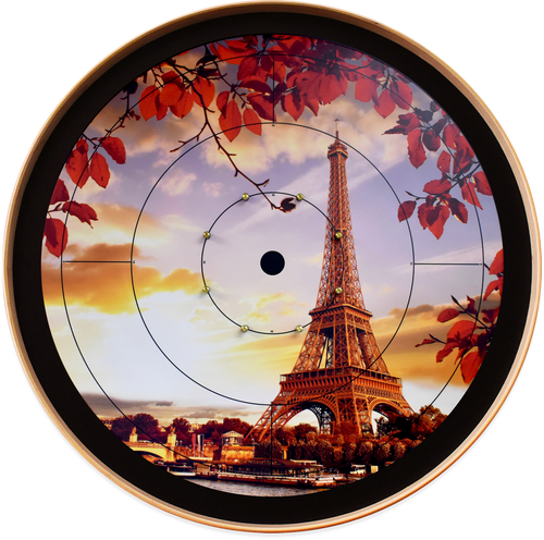 The Paris Dream - Tournament Crokinole Board Game Set - Meets NCA Standards