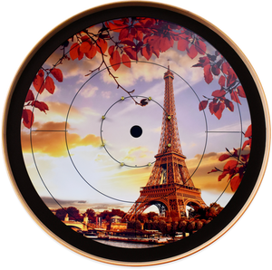 Eiffel Tower - Crokinole Canada Board Series - Tournament Size (Meets NCA Standards)