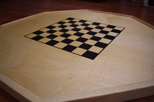 Crokinole Canada (www.crokinole.ca) Crokinole Board Game Black / Natural The Gold Standard - Traditional Crokinole Board Game Set