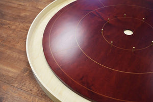 Crokinole Canada Crokinole Board Game The High Roller - Tournament Size Crokinole Board Game Set