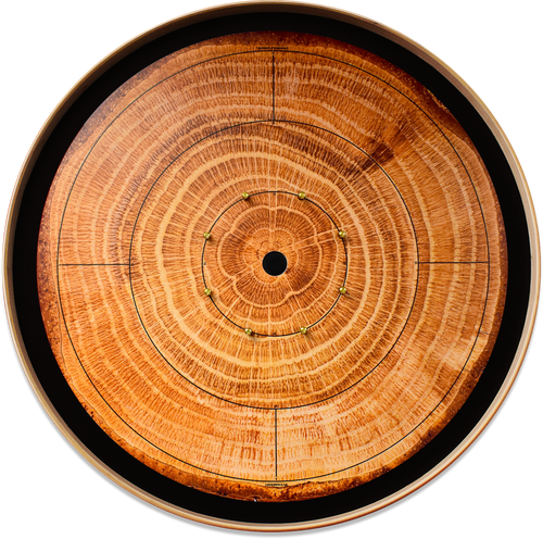 The Lumberjack - Tournament Crokinole Board Game Set - Meets NCA Standards