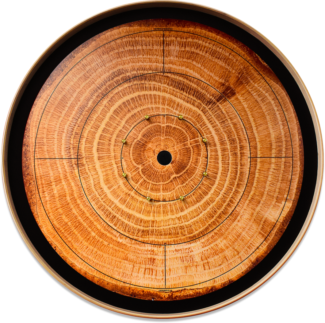 The Lumberjack - Crokinole Canada Board Series - Tournament Size (Meets NCA Standards)