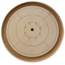 Load image into Gallery viewer, The Standard Tournament Crokinole Board Game Set (Meets NCA Standards)