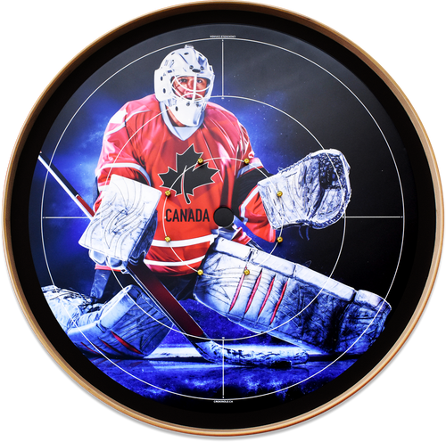 The Canadian Hockey Hero - Tournament Crokinole Board Game Set - Meets NCA Standards