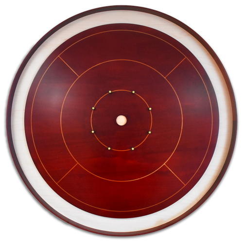 The Victor's Crown Tournament Crokinole Board Game Set - Meets NCA Standards