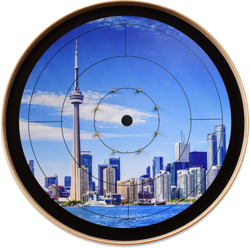 Toronto Life - Tournament Crokinole Board Game Set - Meets NCA Standards