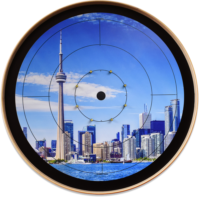 The Torontonian - Crokinole Canada Board Series - Tournament Size (Meets NCA Standards)