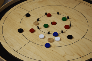 Crokinole Canada Crokinole Pieces Tournament Size Crokinole Disc Party Pack (78 Discs)