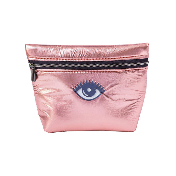 Alexa Pouch | Rose Gold Pillow Evil Eye