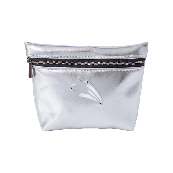 Alexa Pouch | Silver Disco Shooting Star