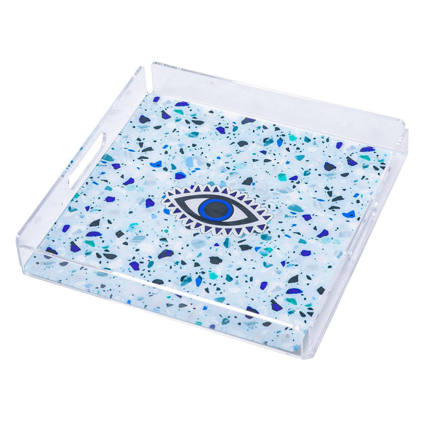 "ALBA Serving Tray ""Mosaic Evil Eye"""