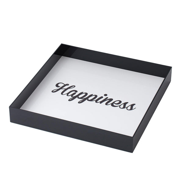 ALICIA Tray Happiness  KOKU CONCEPT PLEXIGLAS