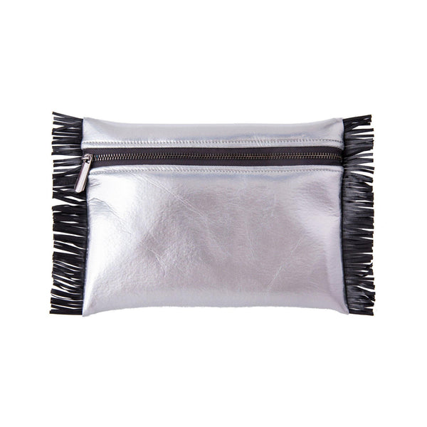 BEACH POUCH WATERPROOF ALIKI KOKU CONCEPT SILVER DISCO
