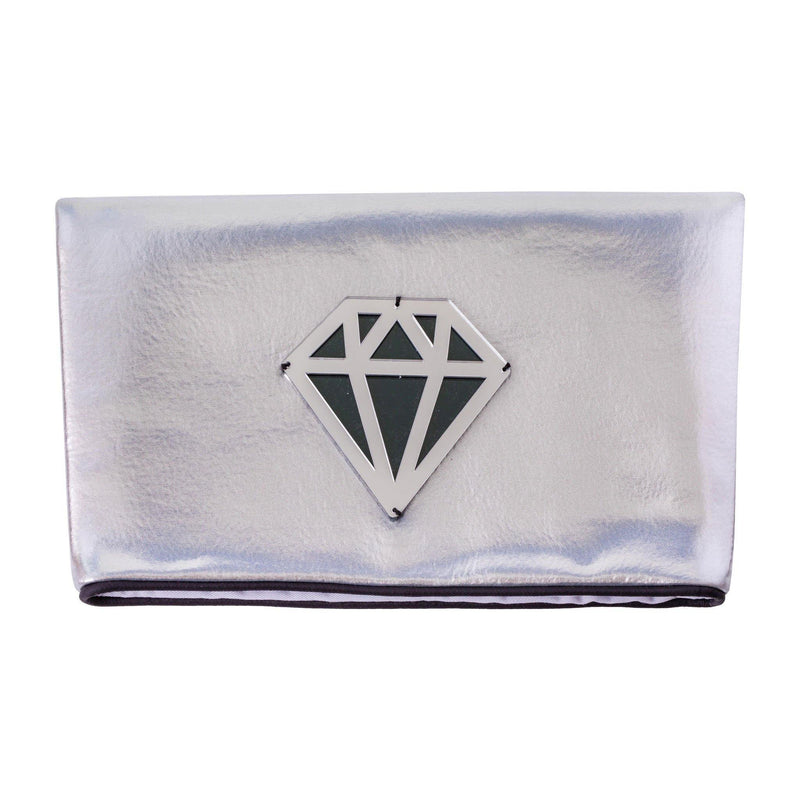 Amara Clutch | Silver Disco Diamond - KOKU Concept